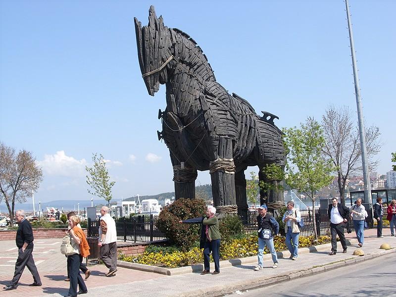 צ'נאקלה - הסוס של טרויה