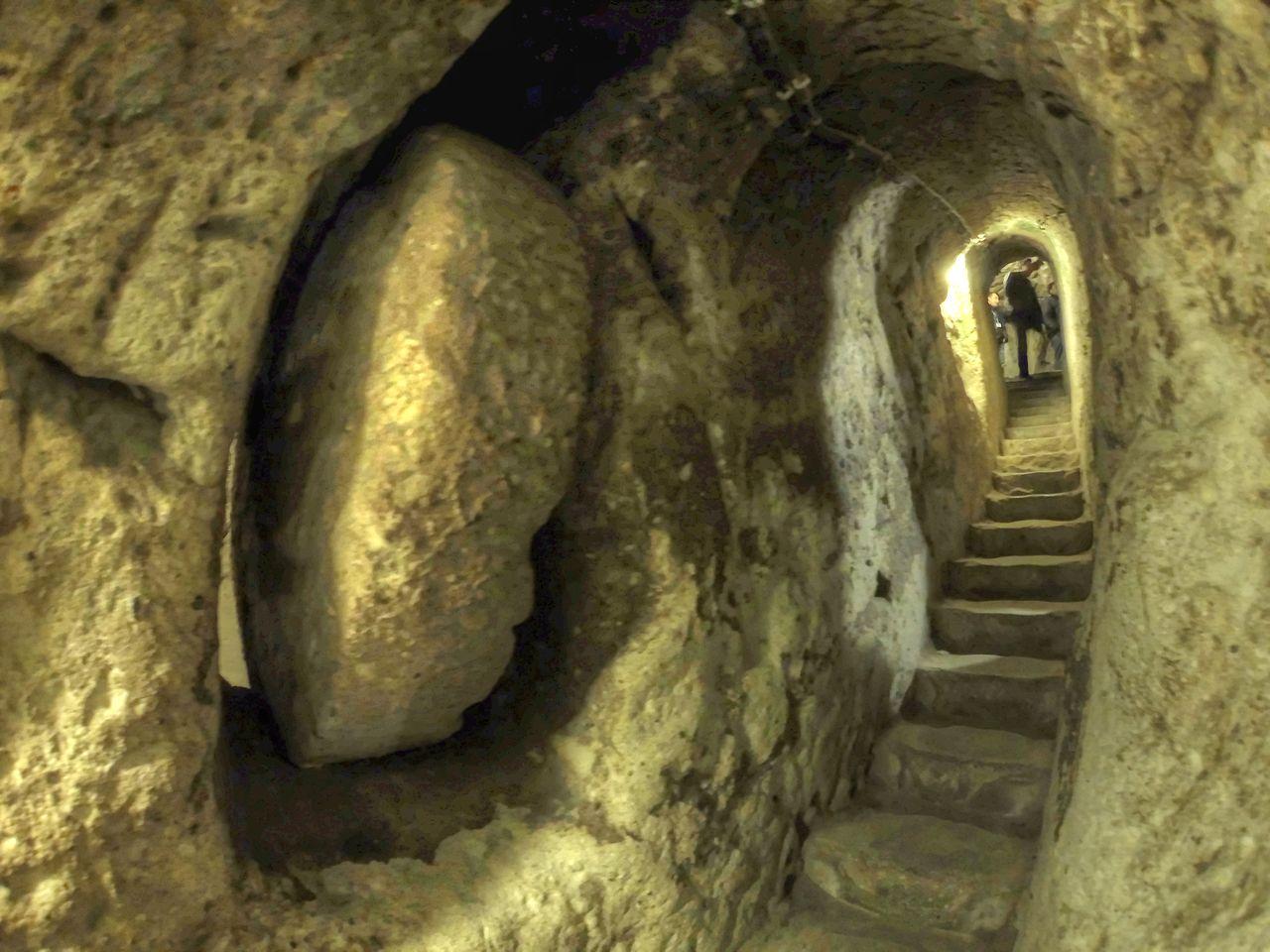 העיר התת-קרקעית אזקונק צילום: Nevit Enhancer