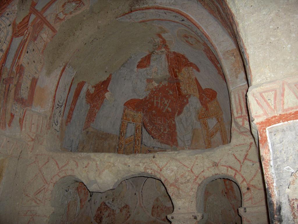 קפדוקיה, גורמה, כנסיית ברברה הקדושה צילום: Georges Jansoone
