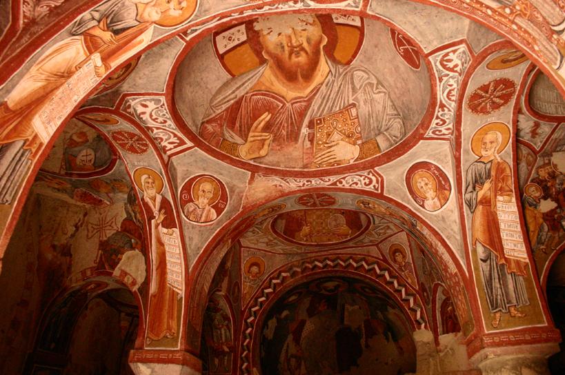 קפדוקיה, גורמה, כנסיית התפוח, צילום: Hawkeye58