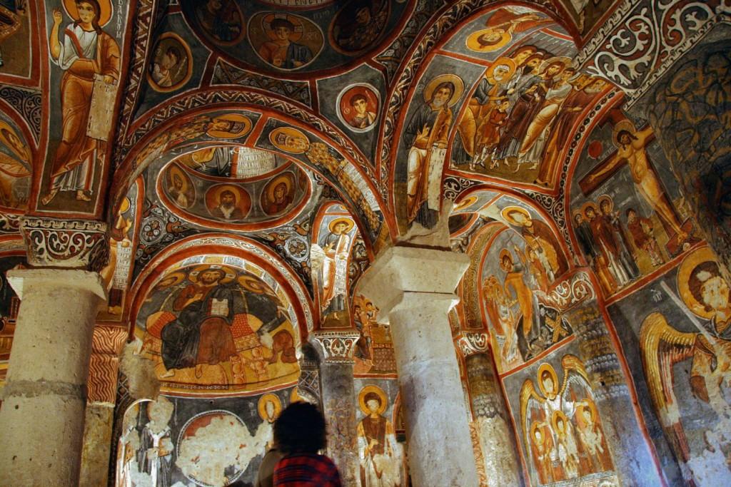 קפדוקיה, גורמה, כנסיית החשיכה הקדושה צילום: Karsten Dörre