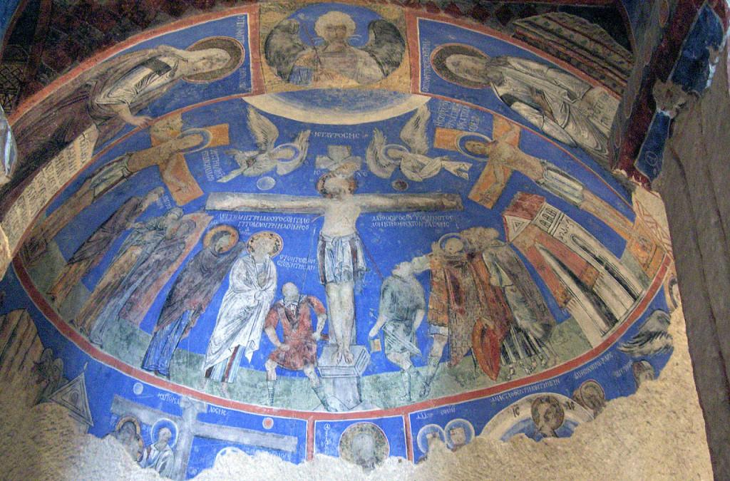 קפדוקיה, גורמה, כנסיית האבזם, צילום: Georges Jansoone